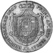 1 Thaler - Ferdinand III of Austria-Tuscany -  reverse