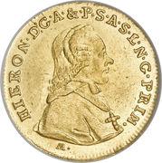 1 Ducat - Hieronymus von Colloredo -  obverse