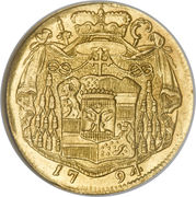 1 Ducat - Hieronymus von Colloredo -  reverse