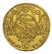 ½ Ducat - Guidobald von Thun -  obverse