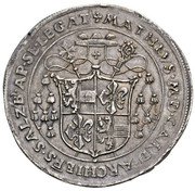1 Guldiner - Matthaüs Lang von Wellenburg -  reverse