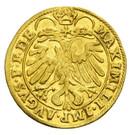 1 Ducat - Johann Jakob Khuen von Belasi (Maximilian) – reverse