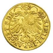 1 Ducat - Johann Jakob Khuen von Belasi (Maximilian) -  reverse