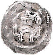 1 Pfennig - Eberhard II von Regensberg -  reverse