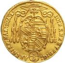 ½ Ducat - Johann Ernst von Thun – obverse