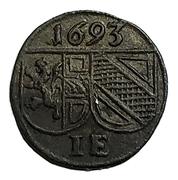 1 Pfennig - Johann Ernst von Thun – obverse