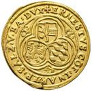1 Gold Gulden / Ducat - Ernst von Bayern – obverse