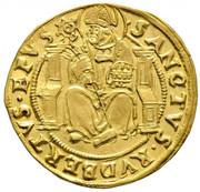 1 Gold Gulden / Ducat - Ernst von Bayern -  reverse