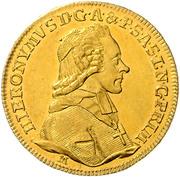 1 Ducat - Hiéronymus von Colloredo (12th Jubileum) – obverse