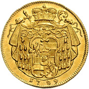 1 Ducat - Hieronymus von Colloredo – reverse
