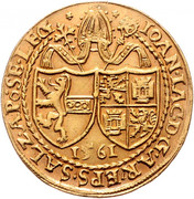 4 Ducats - Johann Jakob Khuen von Belasi – obverse