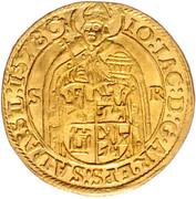 1 Ducat  - Johann Jakob Khuen von Belasi (Rudolf) -  obverse
