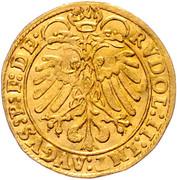 1 Ducat  - Johann Jakob Khuen von Belasi (Rudolf) -  reverse
