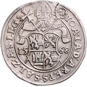 1 Guldentaler - 60 Kreuzer - Johann Jakob Khuen von Belasi (Maximilien) -  obverse