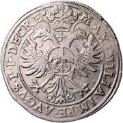 1 Guldentaler - 60 Kreuzer - Johann Jakob Khuen von Belasi (Maximilien) -  reverse