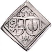 1 Pfennig - Johann Jakob Khuen von Belasi (mule) -  reverse