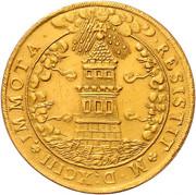 5 ducats - Wolf Dietrich von Raitenau -  obverse