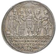 ½ Thaler - Max Gandolf von Kuenburg -  reverse
