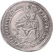 ¼ Thaler - Guidobald von Thun -  reverse