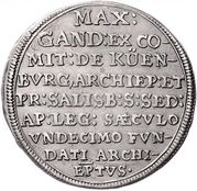 15 Kreuzer - Max Gandolf von Kuenburg -  reverse