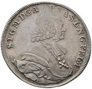 1 Thaler - Sigismund von Schrattenbach (type 13) -  obverse