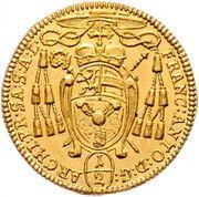 ½ Ducat - Franz Anton von Harrach -  obverse