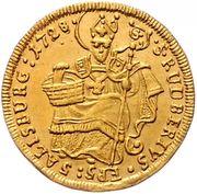 ½ Ducat - Leopold Anton von Firmian -  reverse