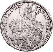 ½  Thaler Madonna - Leopold Anton von Firmian -  reverse