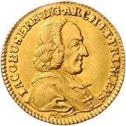 1 Ducat - Jakob Ernst von Liechtenstein -  obverse