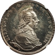 1 Thaler - Hieronymus von Colloredo -  obverse
