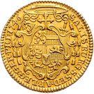 1 Ducat - Jakob Ernst von Liechtenstein – reverse