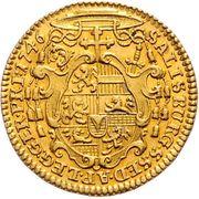 1 Ducat - Jakob Ernst von Liechtenstein -  reverse