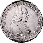 1 Thaler - Jakob Ernst von Liechtenstein -  obverse