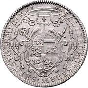 1 Thaler - Jakob Ernst von Liechtenstein -  reverse