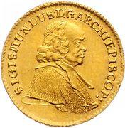 1 Ducat - Sigismund von Schrattenbach – obverse