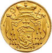 1 Ducat - Sigismund von Schrattenbach – reverse