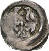 1 Pfennig - Rudolf von Hoheneck (Krems - Friesach) -  obverse