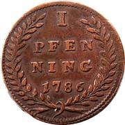 1 Pfenning - Hieronymus von Colloredo -  reverse