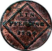 1 Pfenning - Ferdinand – reverse