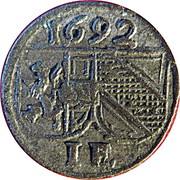 1 Pfennig - Johann Ernst von Thun -  obverse