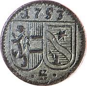 1 Pfennig - Sigismund von Schrattenbach – obverse