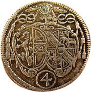 4 Kreuzer - Johann Ernst von Thun -  obverse