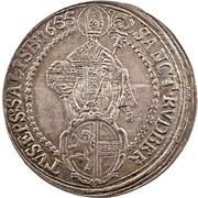 1 Thaler - Guidobald von Thun -  reverse