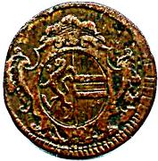 2 Kreuzer - Sigismund von Schrattenbach -  obverse