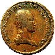 1 Kreutzer - Ferdinand III of Austria - Tuscany -  obverse