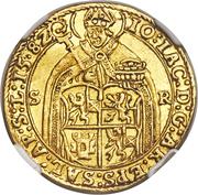 2 Ducat - Johann Jakob Khuen von Belasi (Rudolf II) – obverse