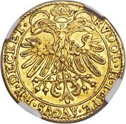 2 Ducat - Johann Jakob Khuen von Belasi (Rudolf II) – reverse