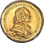 2 Ducat - Sigismund  von Schrattenbach – obverse