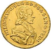 1 Ducat - Hieronymus von Colloredo – obverse