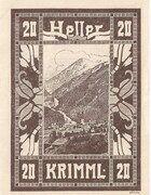 20 Heller (Krimml) -  reverse
